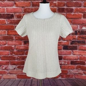 NWOT Toad & Co Kinley Short Sleeve Sweater M